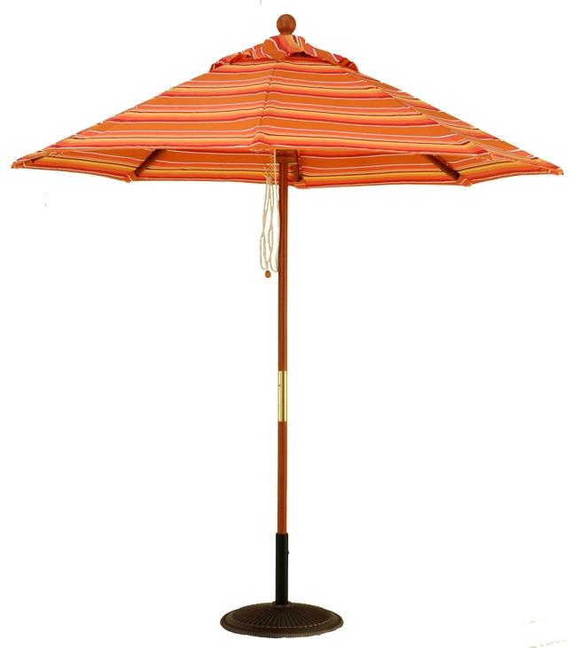 7 Commercial Grade Wood Market Umbrella