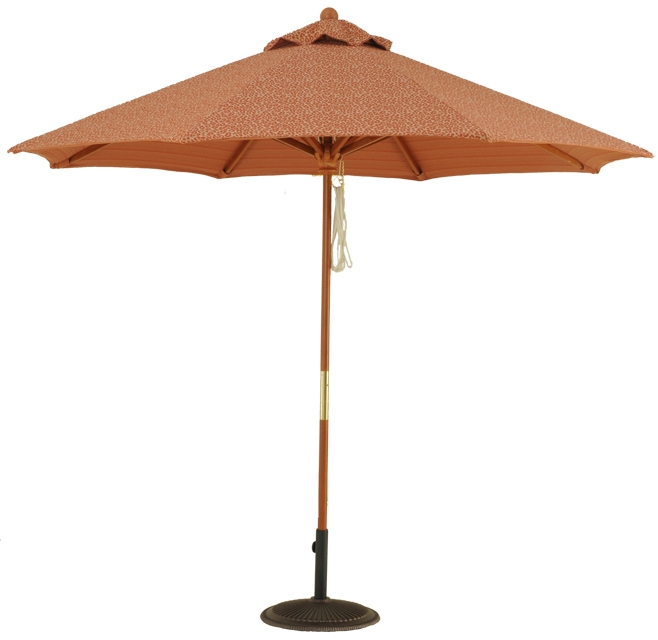 9 Commercial Grade Wood Market Umbrella