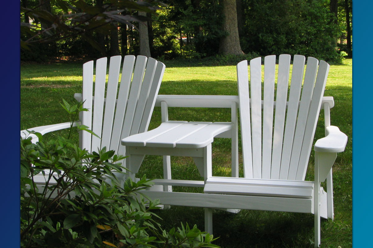 Adirondack Double Seater (Painted Series)