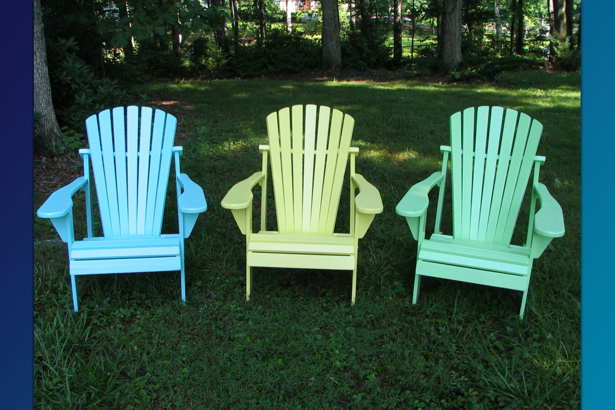 Attrayant Classic Adirondack Chair ( Painted Series)