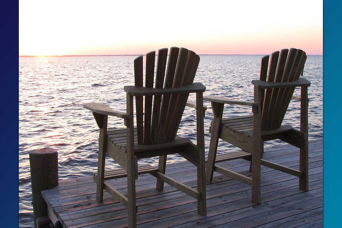 Commercial Series- Adirondack BalconyPub Chair 01