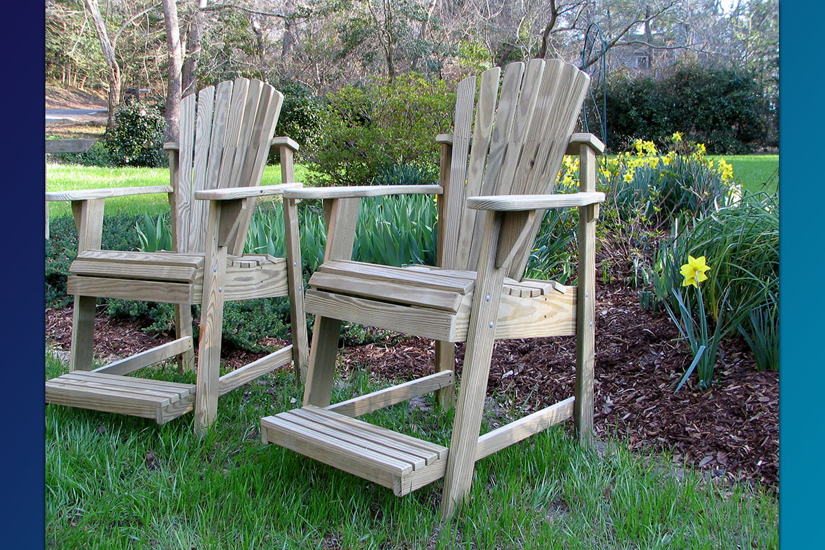 Commercial Series- Adirondack BalconyPub Chair 03