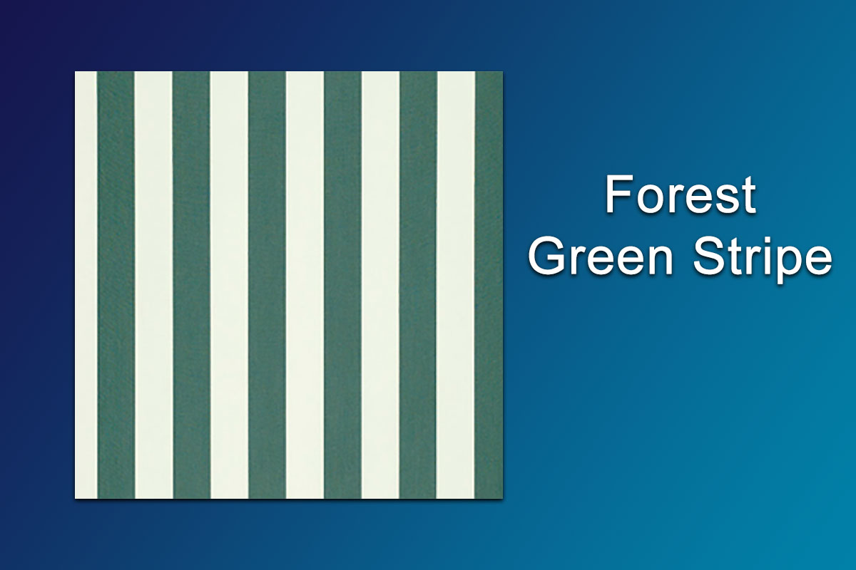 Fabric Samples Forest Green Stripe