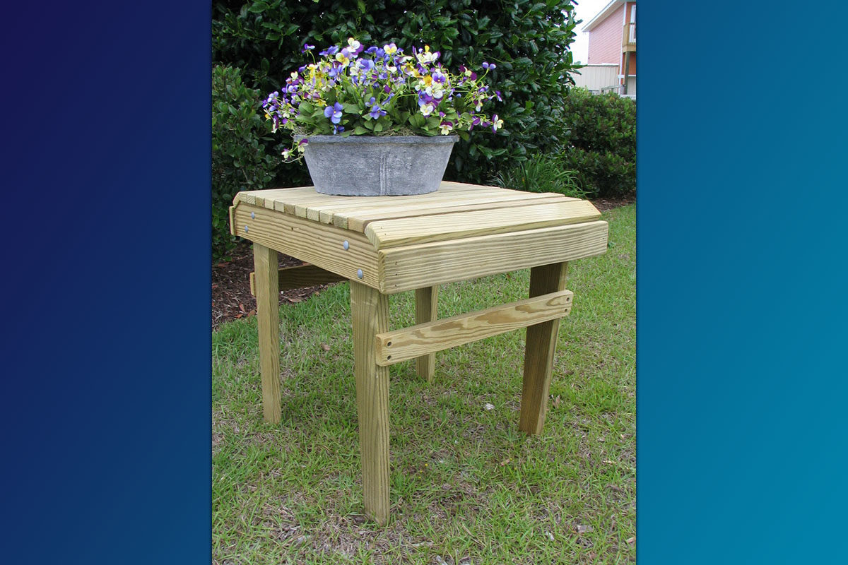 Adirondack Side Table (Unfinished Series)